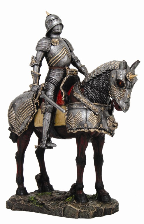 Large Heavy Armor Cavalry Medieval Knight Of Valor Suit Of